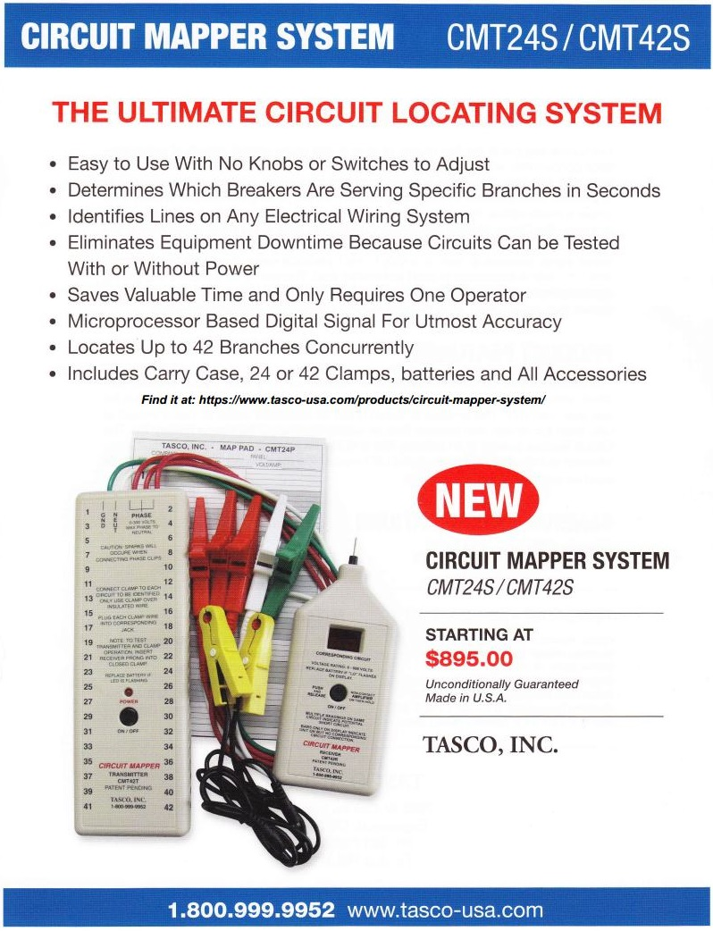 Circuit Mapper Flyer, Page 1