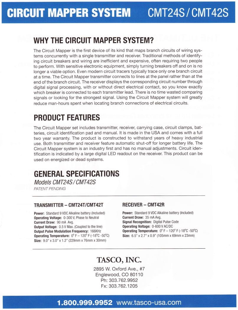 Circuit Mapper Flyer, Page 2