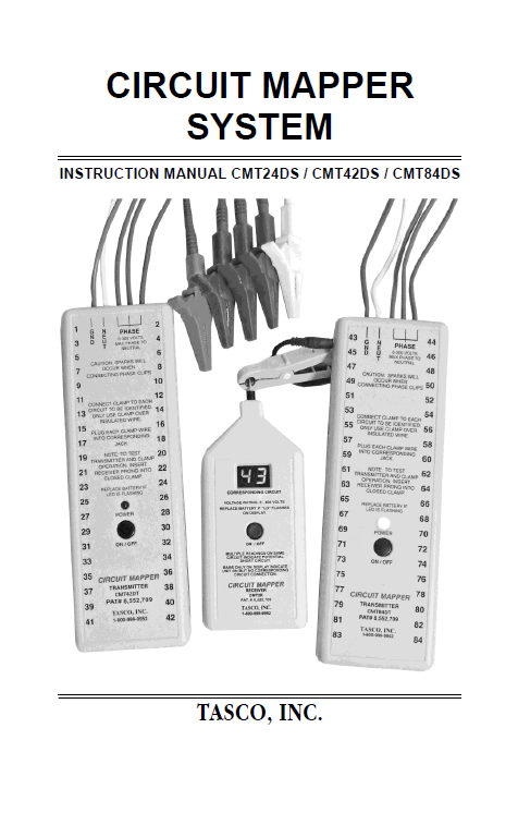 CMT24DS/42DS/84DS Product Manual Cover